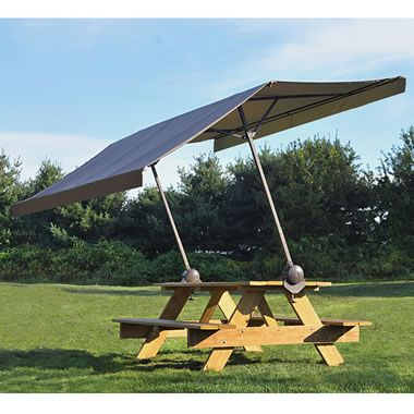 The Clamp On Picnic Table Canopy Picnic Table Canopy Portable Canopy