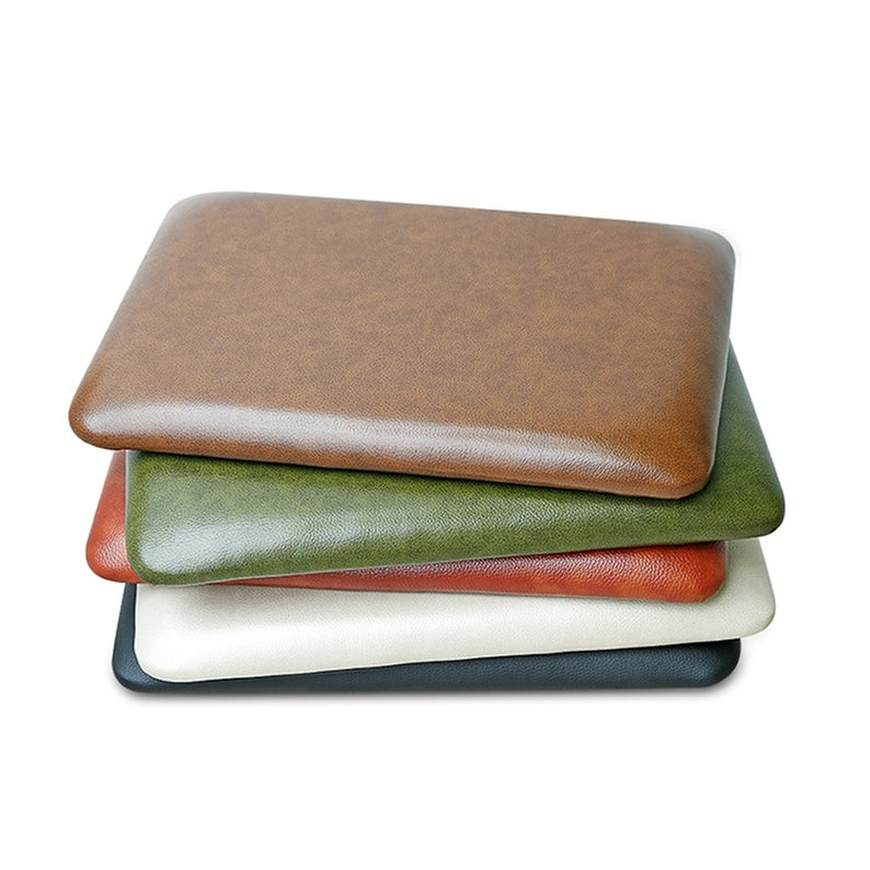 Faux Leather Chair Cushions Bistro Patio Chair Pad Dining Etsy Leather Chair Cushions Faux Leather Chair Leather Chair