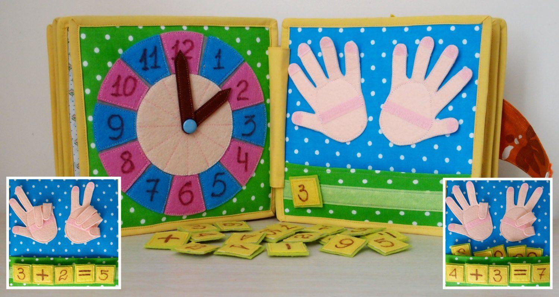 Regalo Bambina 4 Anni libro tranquillo, libro occupato, libro attività, giocattolo