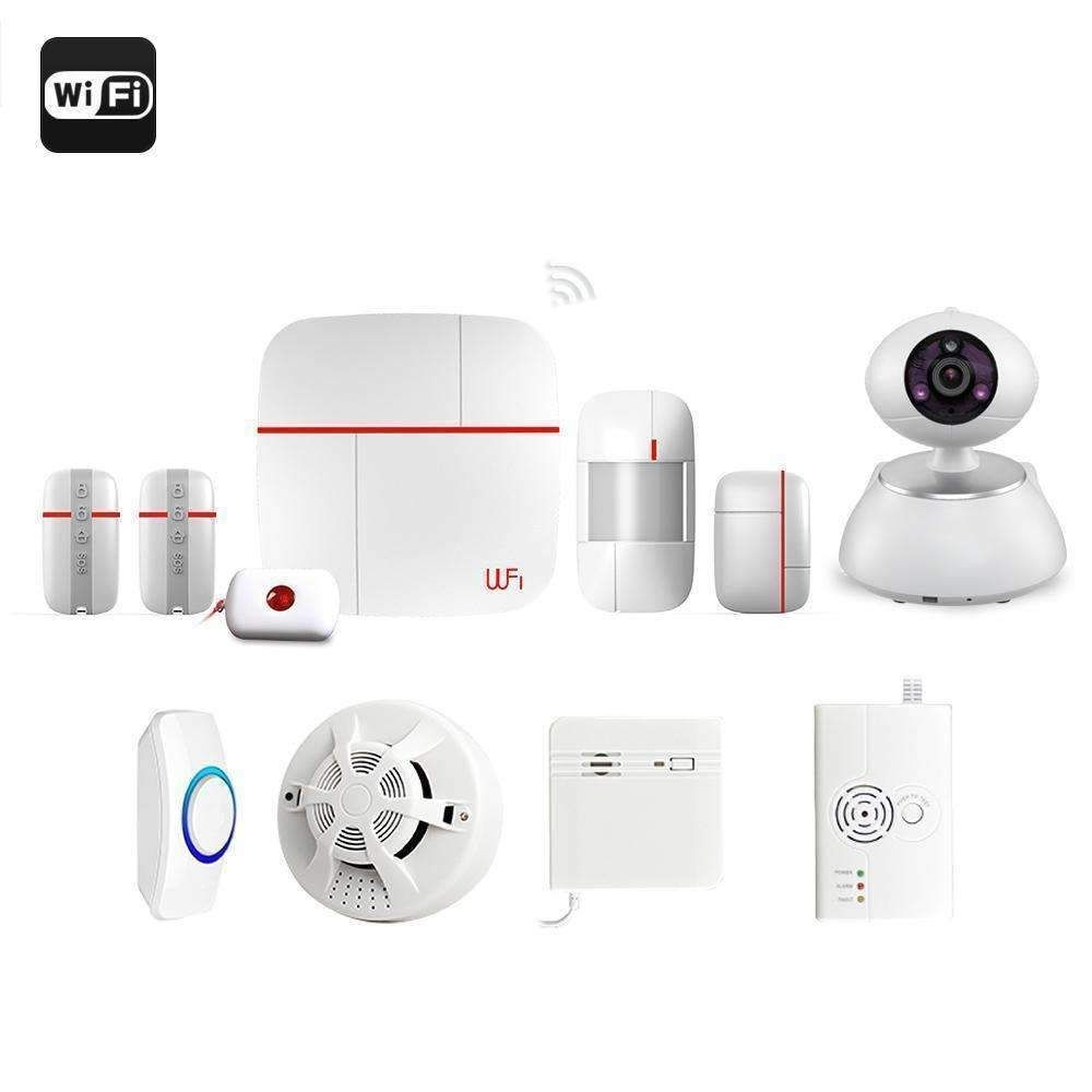 Vcare Dual Network Smart Home Security System iOS and Android Apps