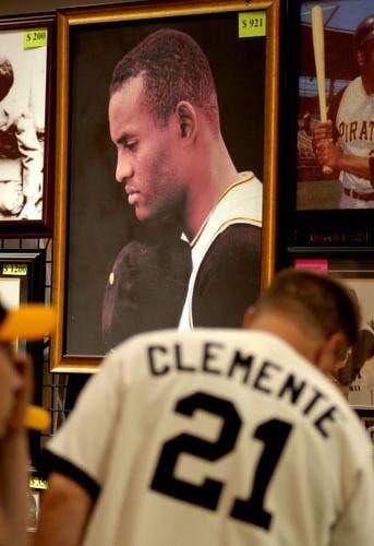 Familiar Faces: Athletes of Puerto Rico: Roberto Clemente