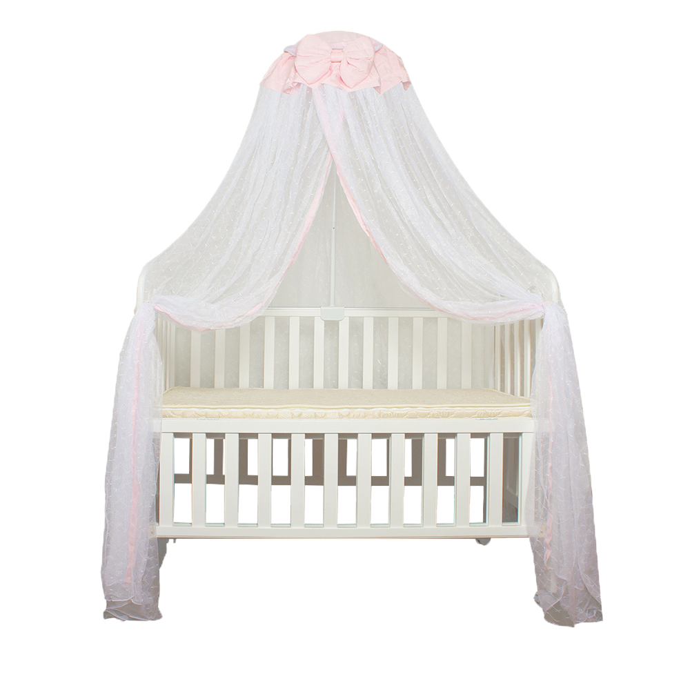HOT Cute Baby Princess Canopy Crib Netting Dome Bed Mosquito Net for Nursery