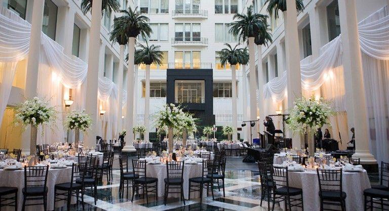 Cescaphe Event Group Philadelphia S Premier Wedding Brand The Atrium At Curtis Center Venue Hospitality Pinterest Venues