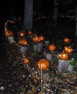Bainbridge Gardens Pumpkin Walk