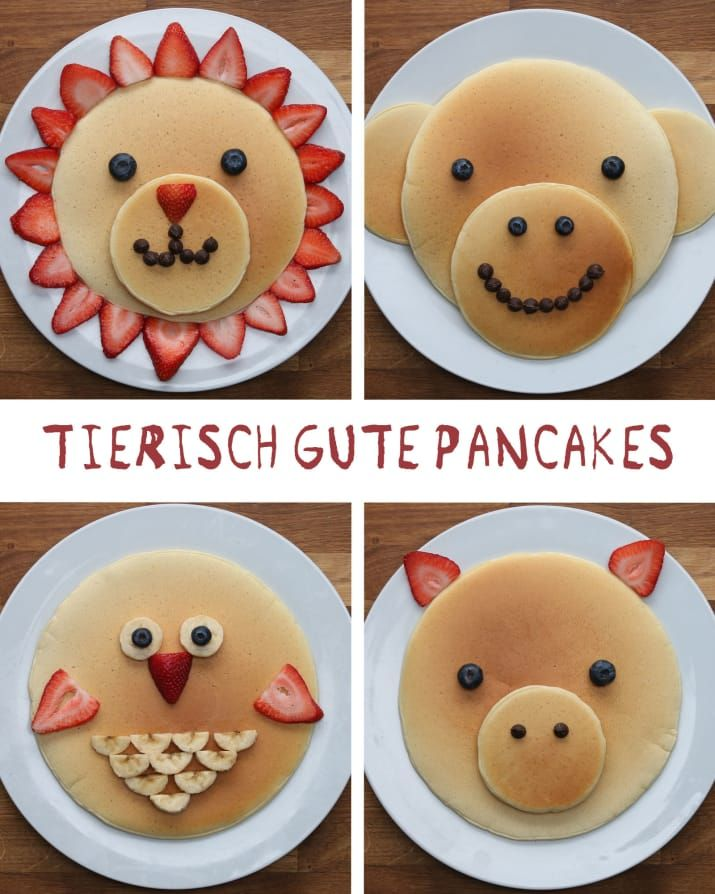 Photo of These good-looking pancakes are the perfect breakfast for all ages