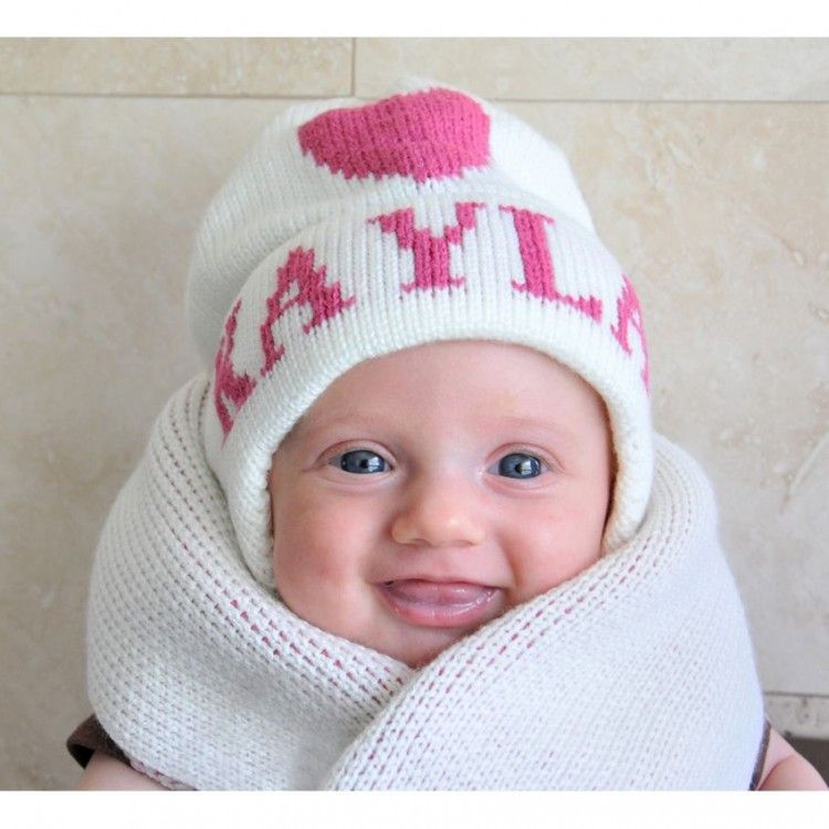 Personalized Winter Hat for Kids  sweetretreatkids  b67c007f10a