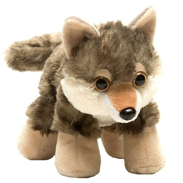 Hug Ems Small Wolf Stuffed Animal By Wild Republic Liked On