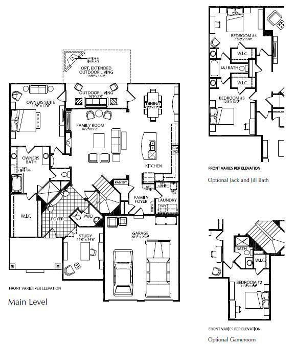 Unique Open Floor Plans | Exciting Flowing & Open Floor Plans in Drees' Nashville New Homes ...