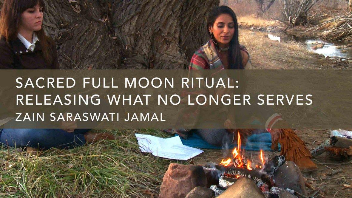 Zain Saraswati Jamal shares her Sacred Full Moon Ritual ...
