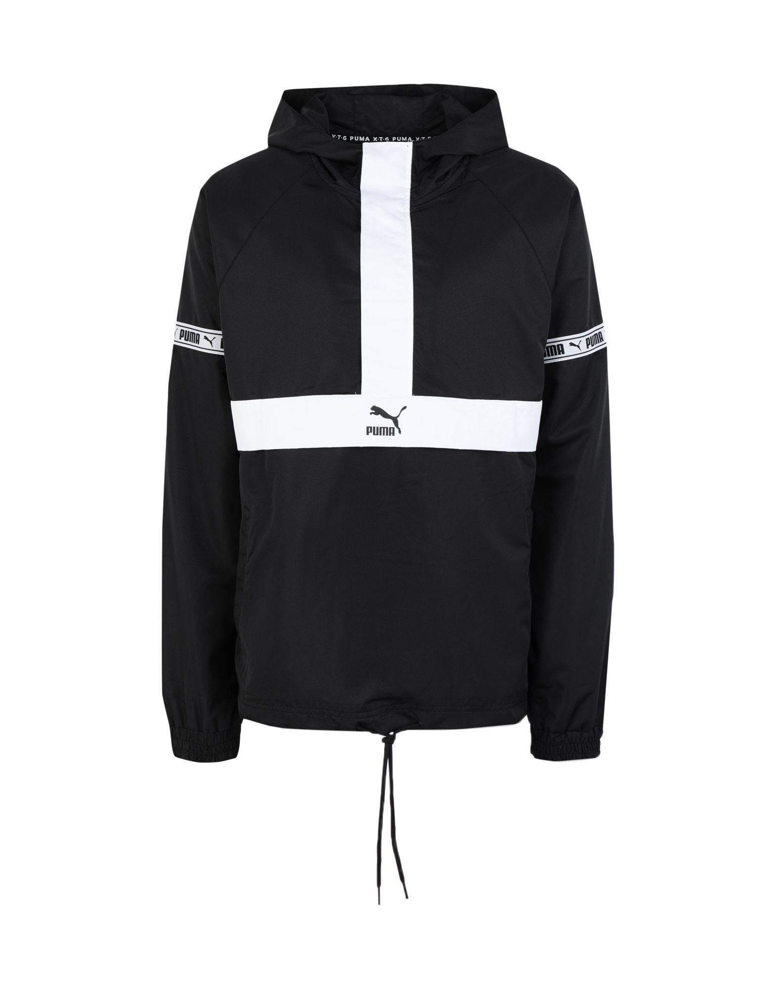 Puma Jacket In Black Modesens Mens Jacket Black Jackets Puma Jackets [ 2000 x 1571 Pixel ]