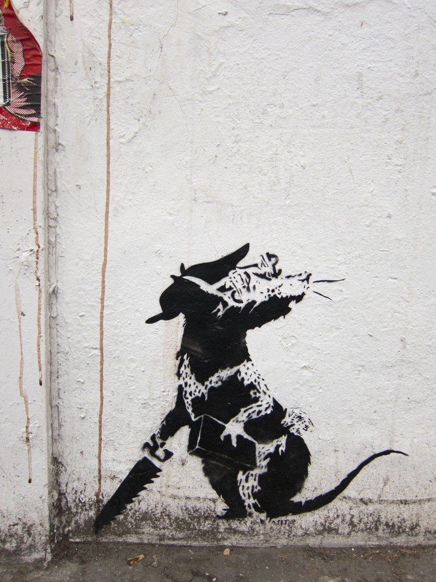 150cm x 100cm painting canvas australia street art print urban  BANKSY london