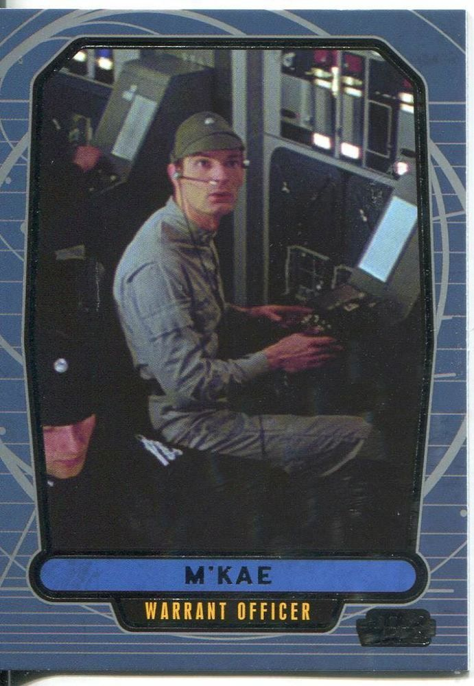 Star Wars Galactic Files 2 Base Card #492 M'Kae in Collectables, Trading Cards…