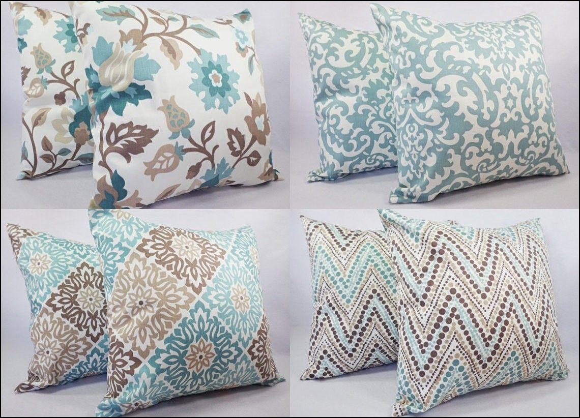 Best Blue And Brown Couch Pillows Decoracion De Salas 400 x 300