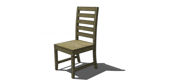 Free Diy Furniture Plans To Build A Francine Dining Chair  The Amusing Build Dining Room Chairs Design Inspiration