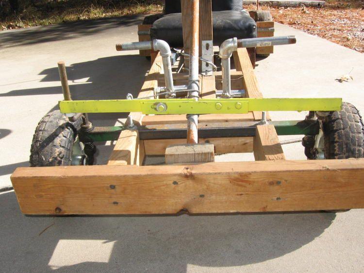 Wooden Go Kart With Gas Engine Car Pinterest Wooden Go Kart