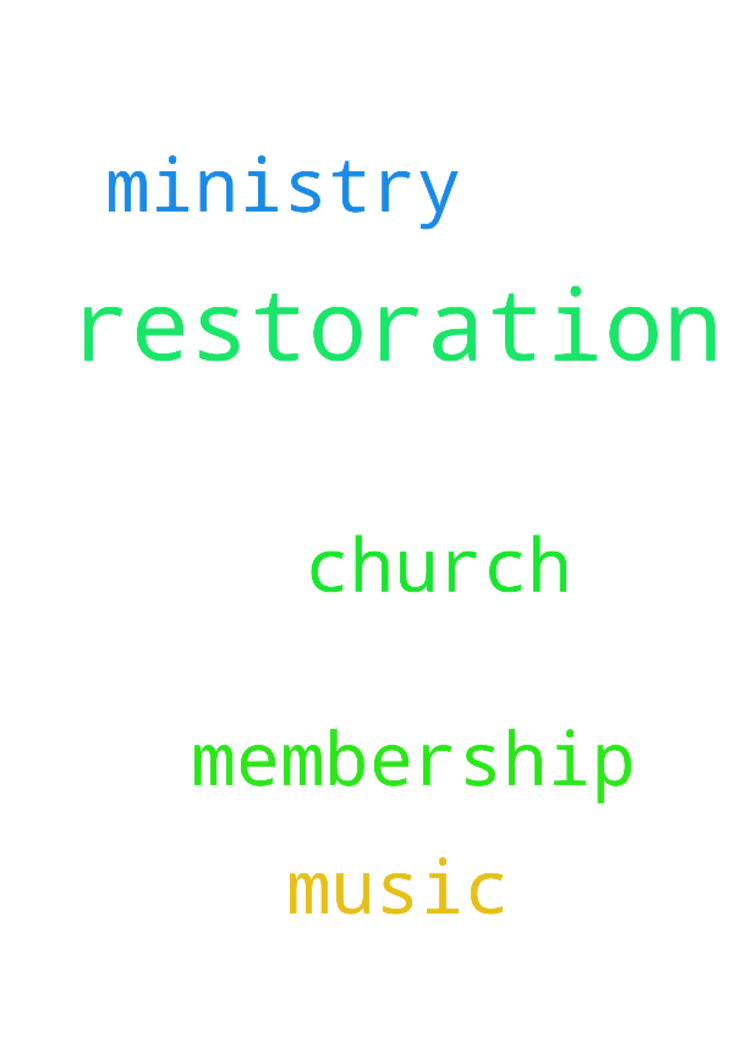 Prayer of restoration -  Pray for the restoration of our church membership and Music Ministry.  Posted at: https://prayerrequest.com/t/frL #pray #prayer #request #prayerrequest