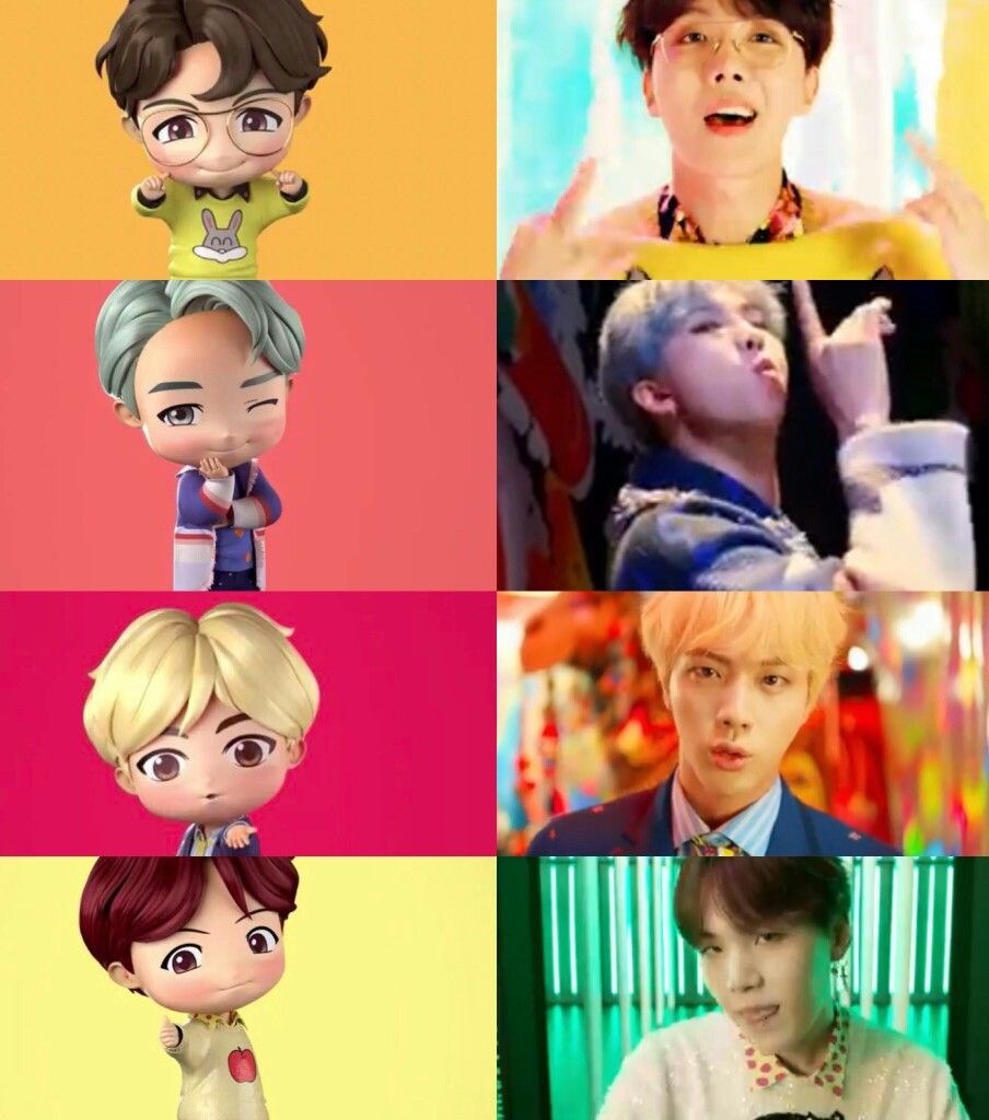 Pin by Ileana 👽 on BTS 방탄소년단 (With images) Bts chibi