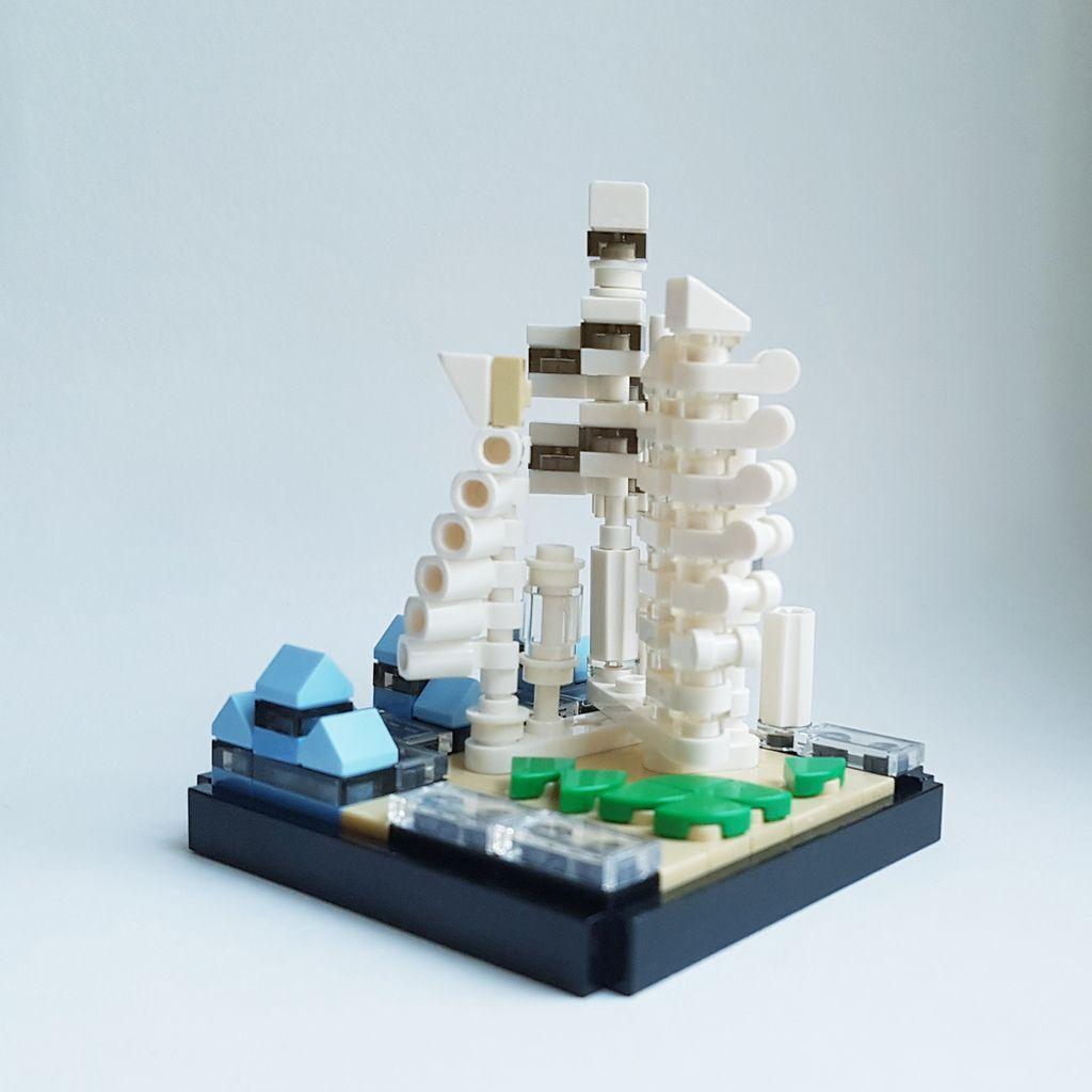 Spine City Moc Ii Lego Architecture Set Lego Architecture Lego