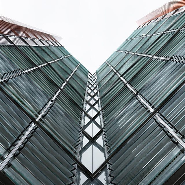 Central Saint Giles mixed development, London. Design by Renzo Piano, completed 2010. © ZAC + ZAC