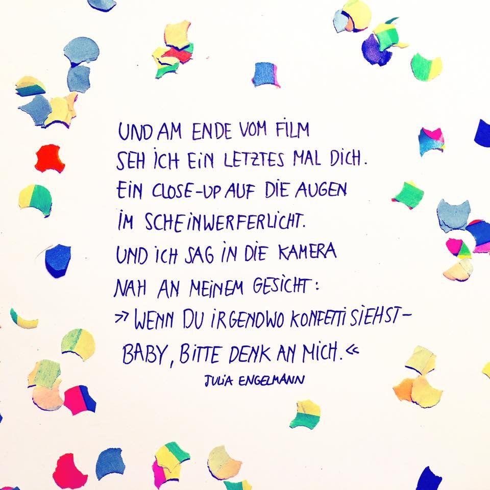 Julia Engelmann   Julia engelmann zitate, Bewegende ...