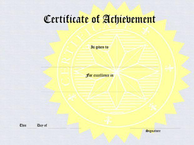 hacer un certificado usando Microsoft Word - award certificates word