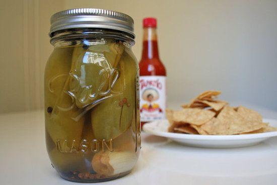 Homemade Pickled Jalapenos!!!