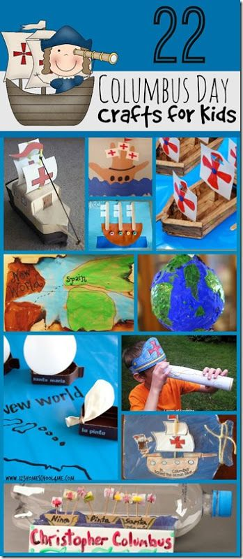 22 Columbus Day Crafts for Kids
