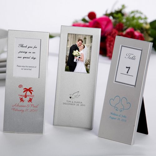 Favor Frame Greet Your Wedding Guests With This Unique Silver Featuring A