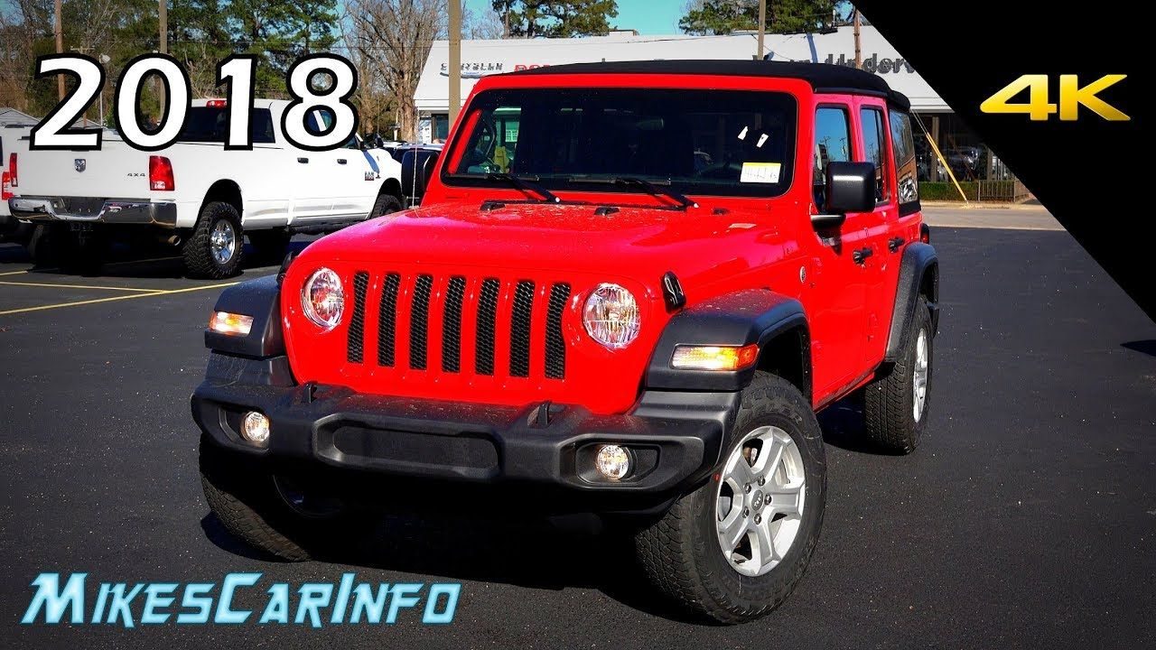 2018 Jeep Wrangler Unlimited Sport Soft Top Ultimate In Depth