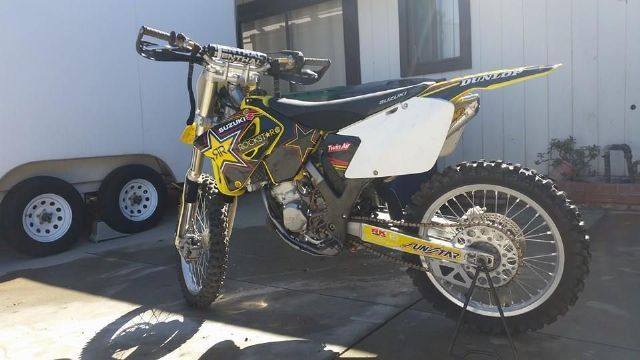2003 Suzuki Rm125 Dirt Bike Yellow For Sale In Canyon Country