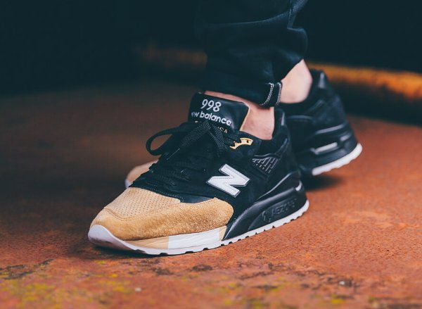 new balance black beige