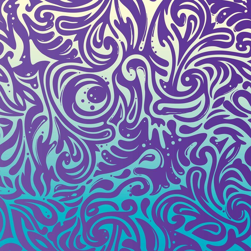 simple swirl pattern