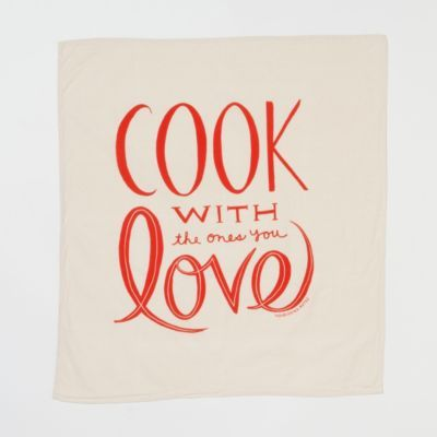 Cook With Love Tea Towel Which Way To Your Heart Cooking