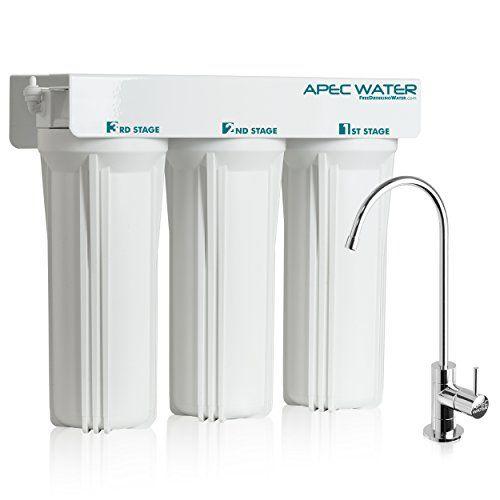 Apec Wfs1000 Super Capacity Premium Quality 3 Stage Undersink