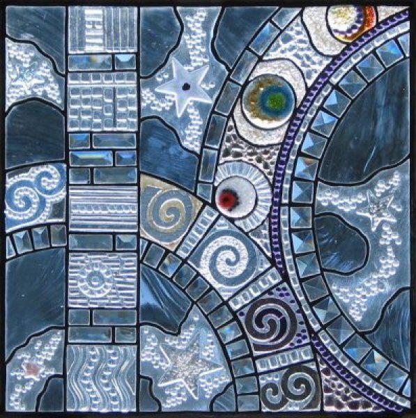 Glass art by Sandy Fifield