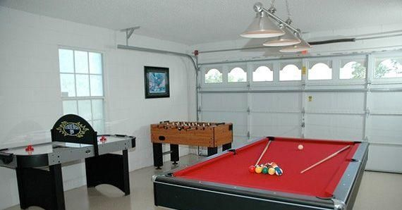 5 Cool Ideas To Turn Your Garage Into A Game Room Garage Game