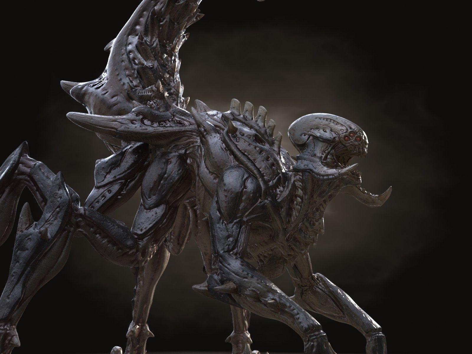 Xenomorph Vs Zerg The gallery for...