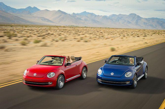 Das neue Volkswagen Beetle Cabriolet  The new Beetle cabriolet