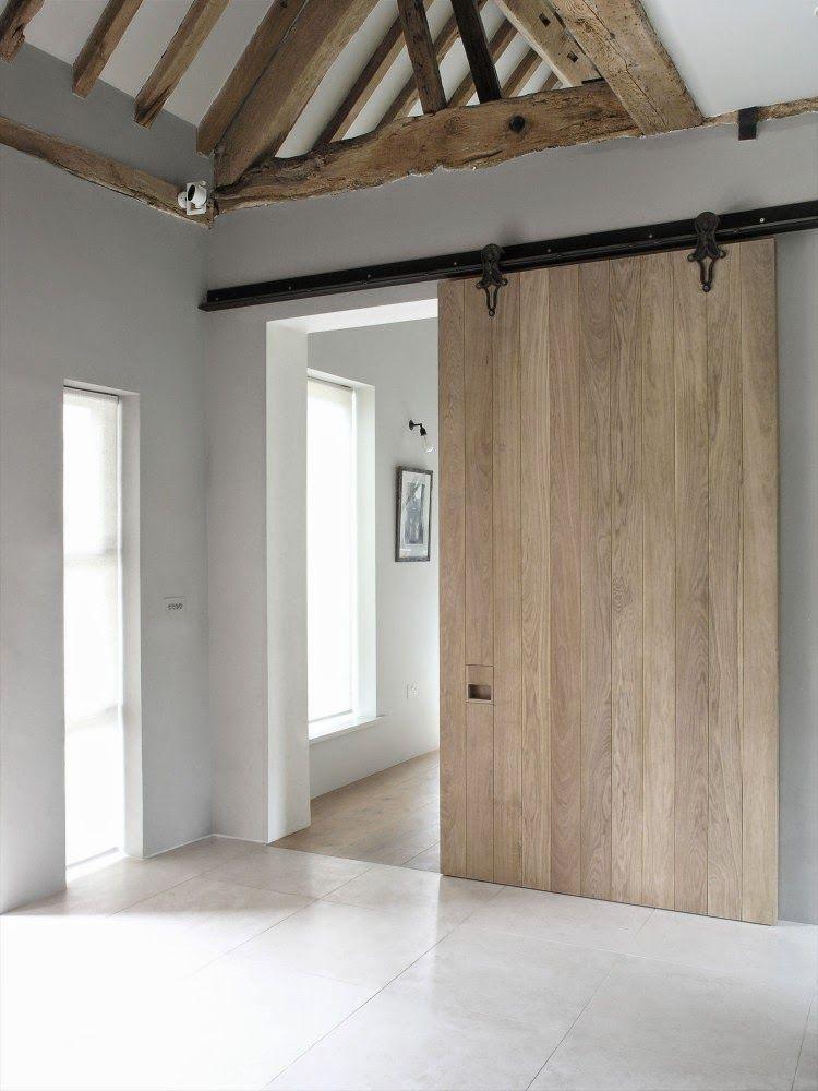 Schuifdeur tussen woonkamer en keuken gemaakt van stijgerhout emmastraat pinterest keuken - Schuifdeur keuken woonkamer ...
