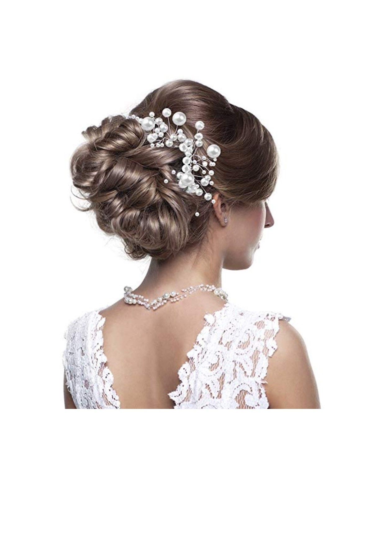 bridal hair comb wedding hair side combs bridal head pin