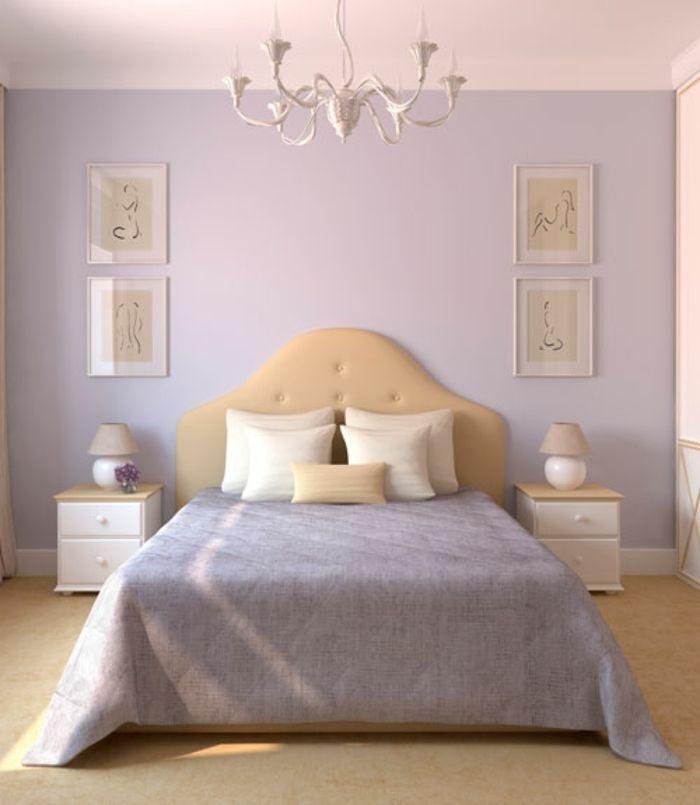 chambre à coucher couleurs pastels | Chambre feng shui | Pinterest ...