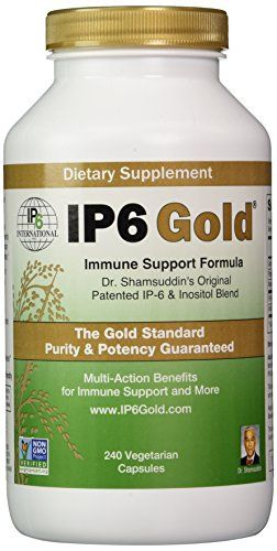 IP6 Gold Immune Support Formula by IP6 240 Vegetarian