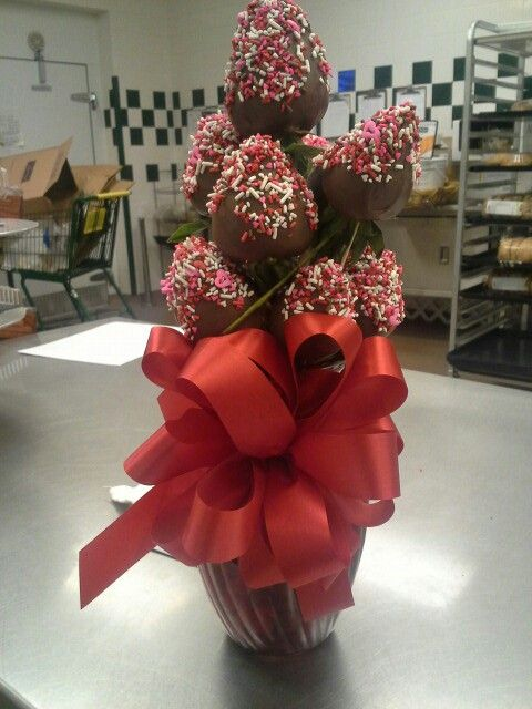 Chocolate Covered Strawberry Bouquet Cakes I 39 Ve Made