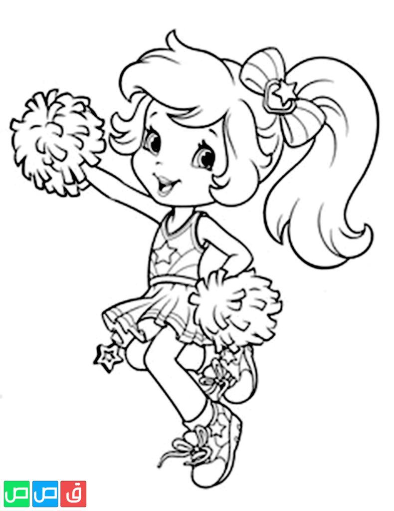 رسومات للتلوين للبنات أكثر من مائة صورة جاهزة للطباعة قصص اطفال Cute Coloring Pages Cartoon Coloring Pages Strawberry Shortcake Coloring Pages