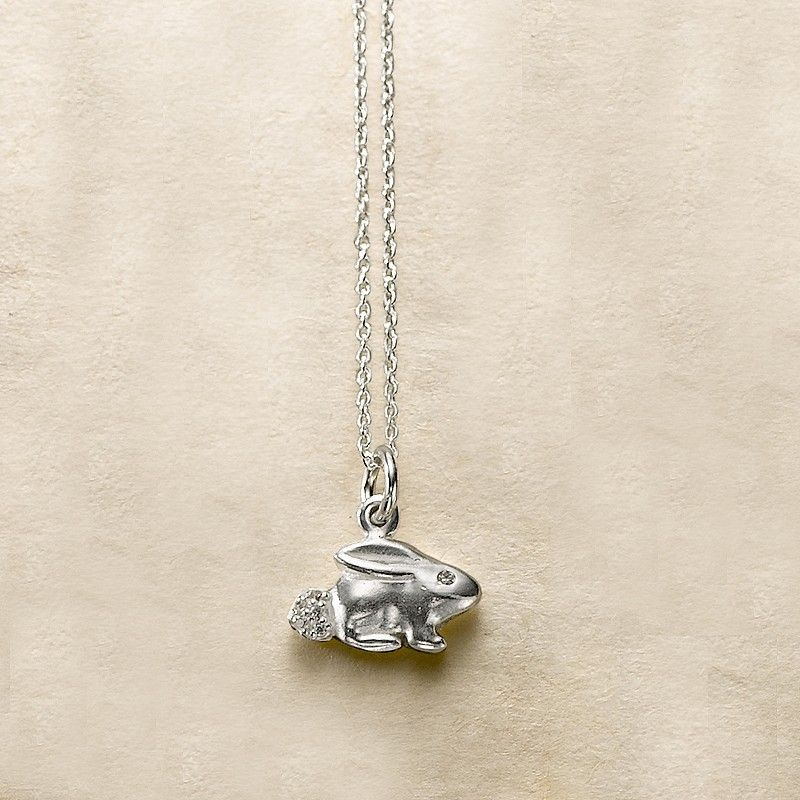 428c3bee0d7 Buy Bunny Pendant from Pia Jewellery   Pia Nature   Jewelry, Silver ...