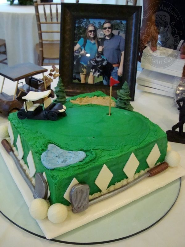 Golfing Themed Grooms Cake Photos Of Themed Birthday Cakes And