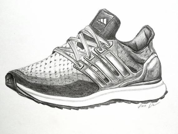 Fashion Illustration, Shoes, Adidas, Workout, Activewear