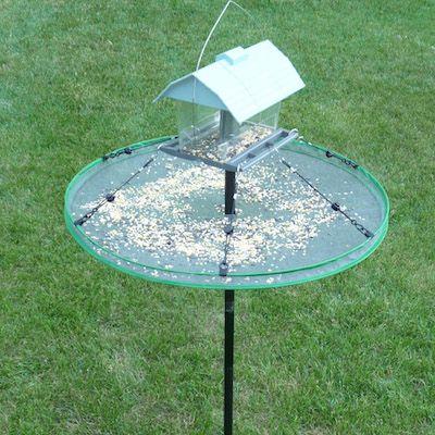 Adjustable Seed Tray For Bird Feeder Pole Bird Feeder