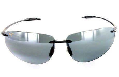 3a128b901f  NEW  Maui Jim Backyards 424-02 Sunglasses Gloss Black   Neutral Grey Maui  Jim.  119.99