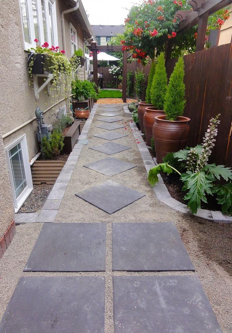 Unusual small backyard ideas gardening pinterest backyard